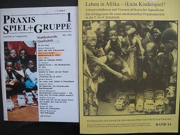 Kinderspielzeug in Afrika, Didaktik Forschung, Praxis Spiel Gruppe